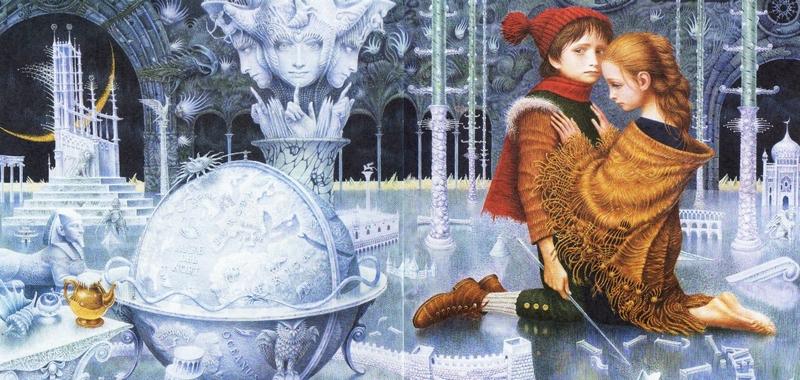 У Снежной королевы.